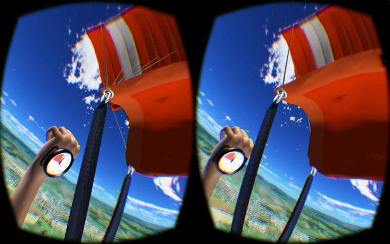 Virtual Reality Skydiving